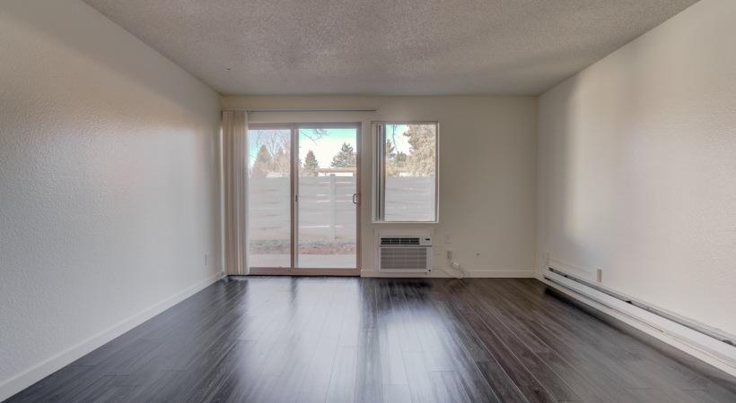 One Bedroom Living Room 1