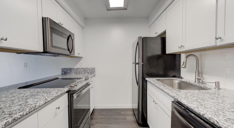 One Bedroom Kitchen 1