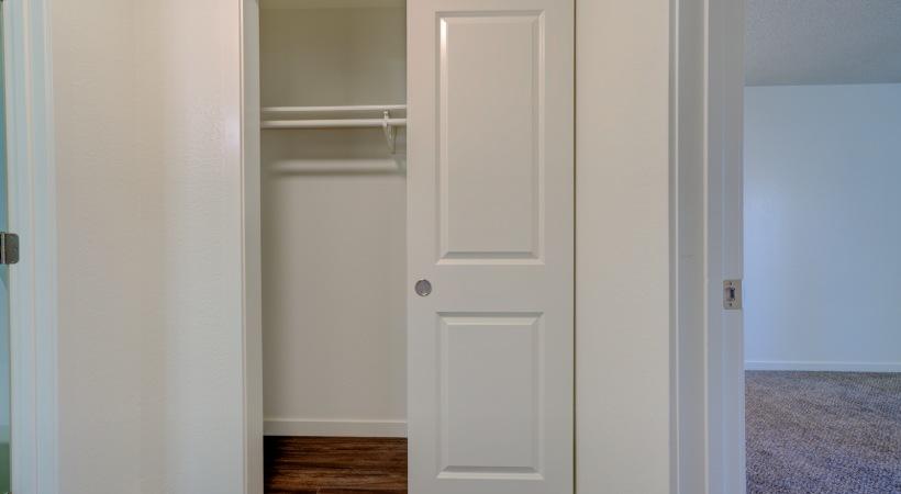 One Bedroom Guest Closet