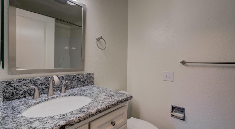 One Bedroom Bathroom  2