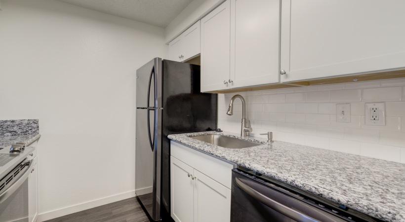 One Bedroom Kitchen 2