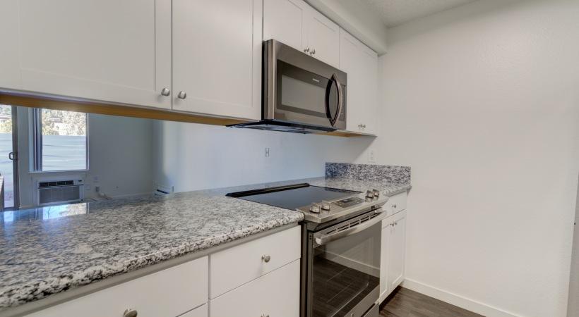 One Bedroom Kitchen 3